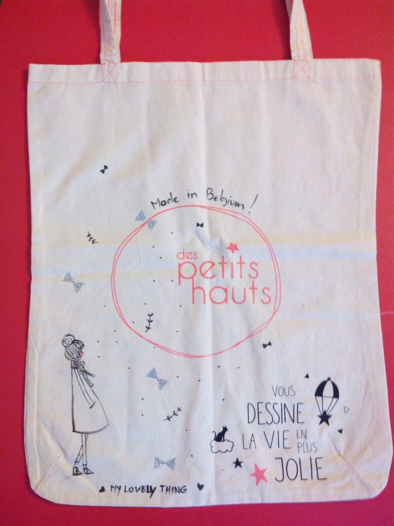 Tote bag Des Petits Hauts et My Lovely Thing